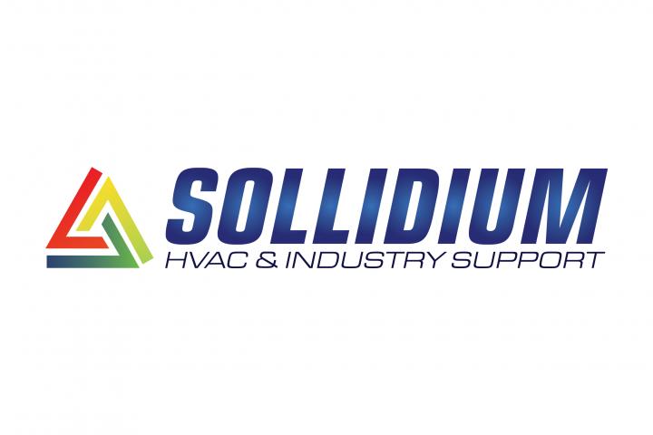 Logo Sollidium w oryginalnych kolorach